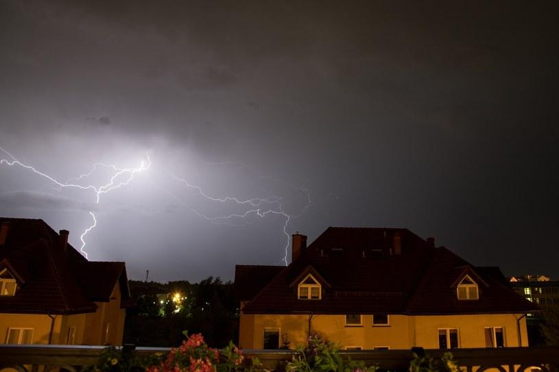 Burza w Gdańsku; Zdj. ilustracyjne /Fot. Wojciech Strozyk /Reporter
