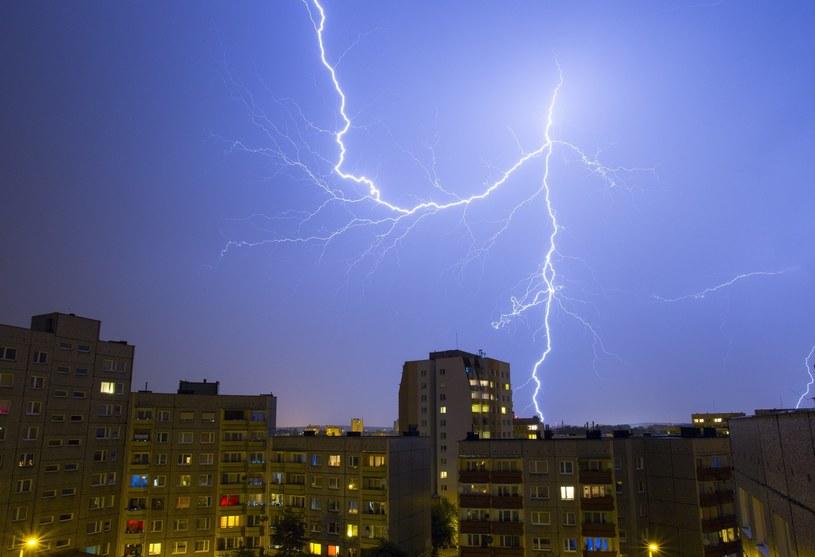 Burza w Katowicach (arch.) /Tomasz Kawka /East News
