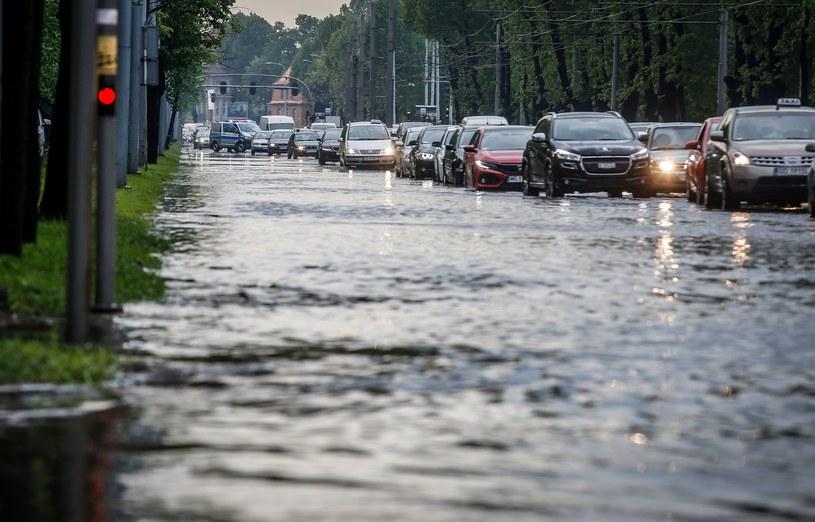 Burza z gradem, która 11 maja przeszła nad Trójmiastem /Karolina Misztal /Reporter