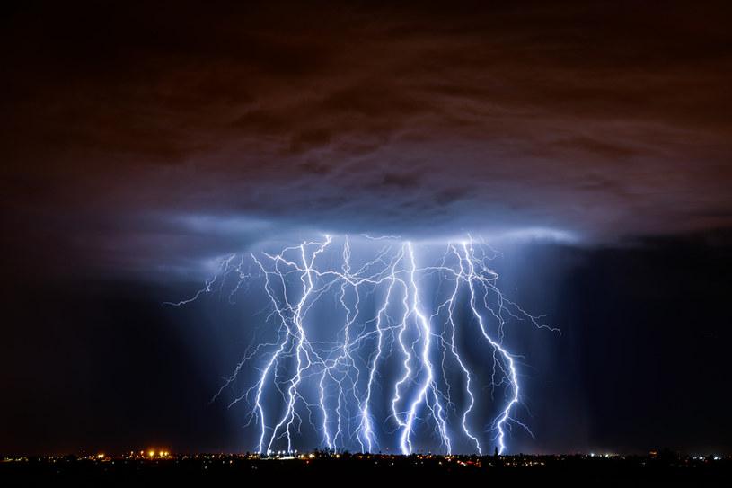 Burza z piorunami, zdjęcie ilustracyjne /123RF/PICSEL