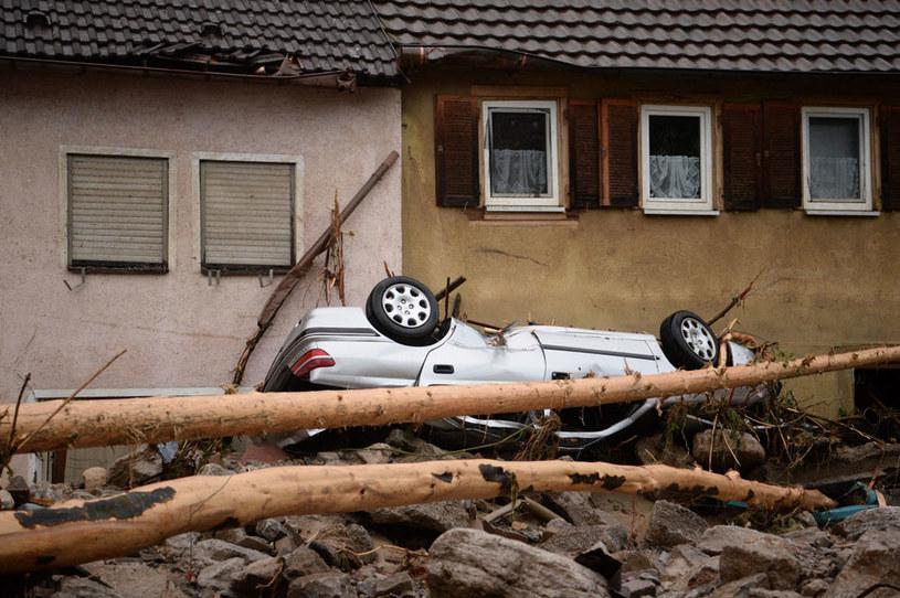 Burze i deszcze spowodowały znaczne straty /FRANZISKA KRAUFMANN /PAP/EPA