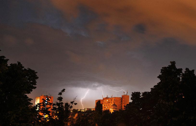 Burze szalały nad Polską /AFP