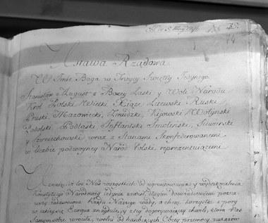 Burzliwe kulisy uchwalenia konstytucji 3 Maja
