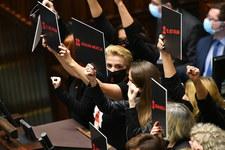 Burzliwe obrady Sejmu po wyroku TK w sprawie aborcji