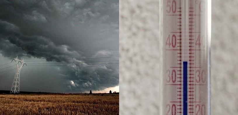 Burzowo i upalnie. Nawet do 37 st. Celsjusza! fot. Agencja SE/East News/PAP /123RF/PICSEL