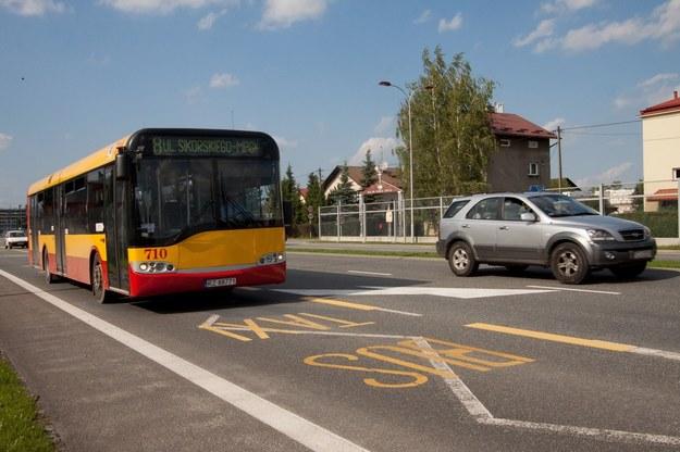 Buspas w Rzeszowie /Fot. Maciej Goclon  /East News