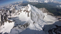 Butami ocierał o górskie szczyty. Niesamowite