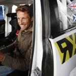 Button i Coulthard za kierownicą samochodów Rally Cross