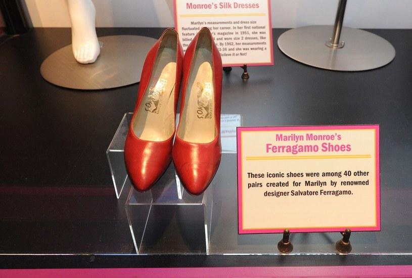Buty stworzone przez Salvatore Ferragamo dla Marilyn Monroe /East News