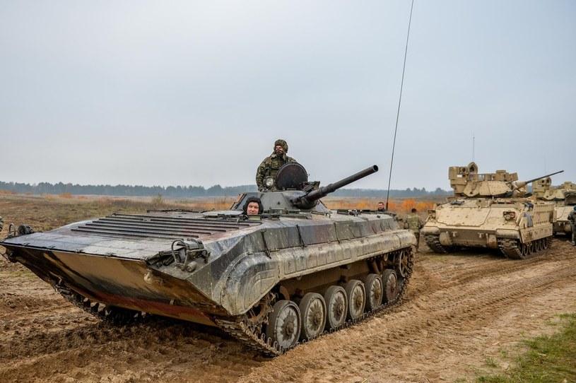 BWP-1 na poligonie w Drawsku Pomorskim /GUARD/REPORTER /East News