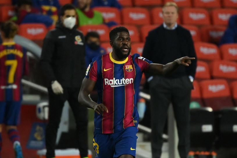 Być może był to ostatni sezon Samuela Umtitiego w koszulce FC Barcelony /LLUIS GENE/AFP/East News /East News