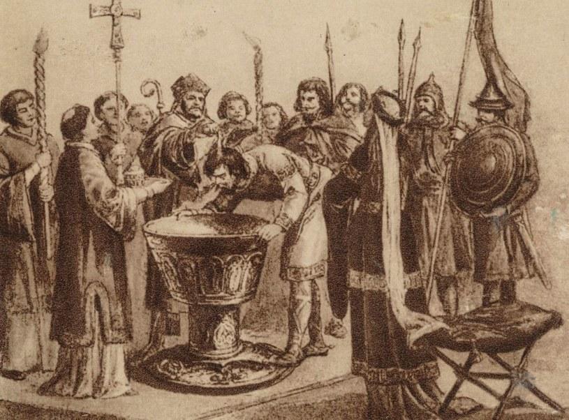 Bycie chrześcijańskim władcą w średniowiecznej Europie otwierało wiele drzwi. Mieszko I należał do tego grona, choć niektórym bardzo zależało, by zasiać wątpliwość co do tego faktu /domena publiczna