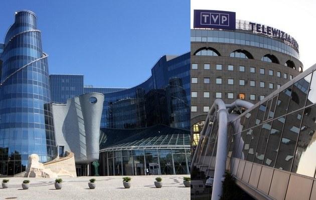 Bydynek TVP /- /East News