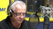"""""""Był sobie słoń, wielki, jak słoń..."""" Marek Kondrat w studiu nagrań RMF FM"""