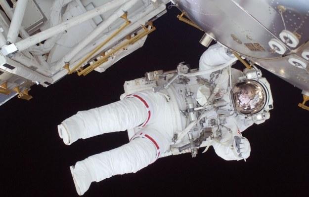 Był to najkrótszy spacer kosmiczny od 2004 roku /AFP