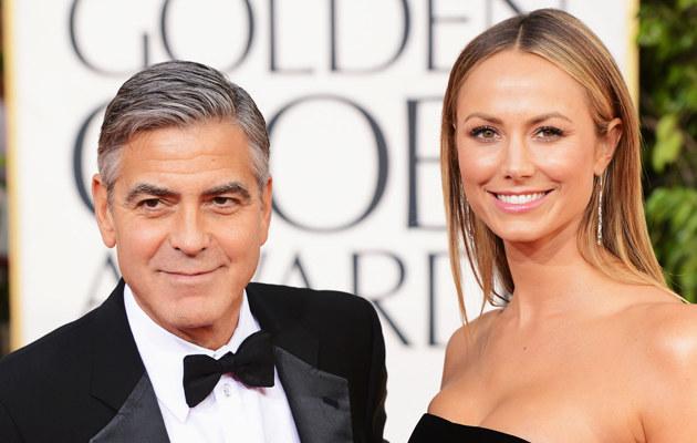 Była dziewczyna George'a Clooney'a, Stacy Keibler, została mamą! /Jason Merritt /Getty Images