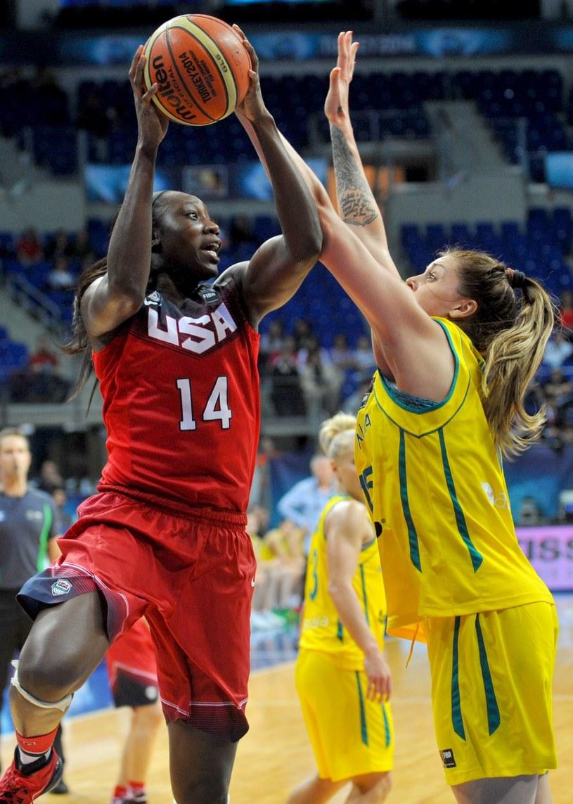 Była koszykarka Wisły wciąż zaskakuje /OZAN KOSE /AFP