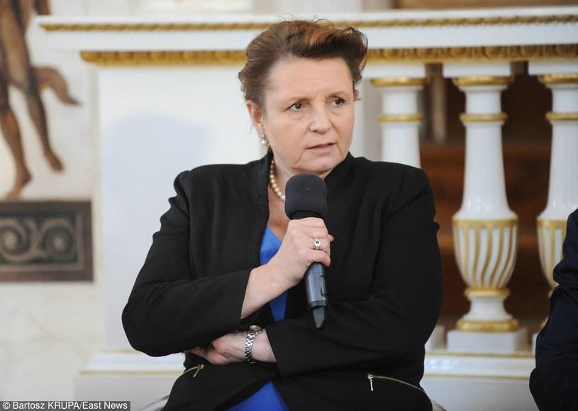 Była minister kultury i dziedzictwa narodowego, Małgorzata Omilanowska /Bartosz Krupa /East News