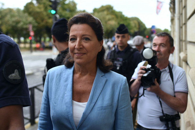 Była minister zdrowia Francji Agnes Buzyn /Lucas Barioulet  /AFP