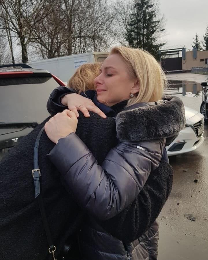 Była miss Białorusi Wolha Chiżynkowa wyszła z aresztu /Instagram / a_Ivulin /Twitter