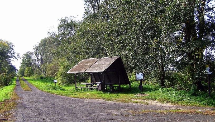 Była osada Niwka (Schwarzsee) na północnym wale /Odkrywca