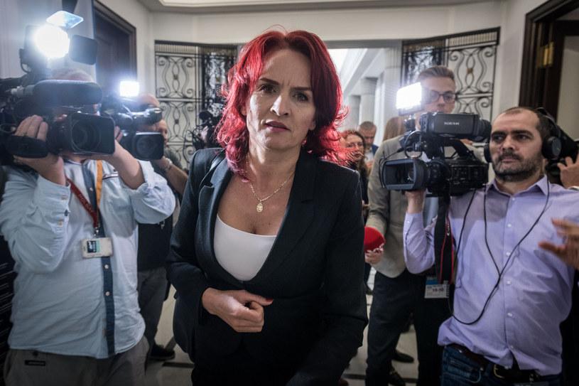 Była posłanka PiS Bernadeta Krynicka wraca do pracy w szpitalu w Łomży / Jacek Domiński /Reporter