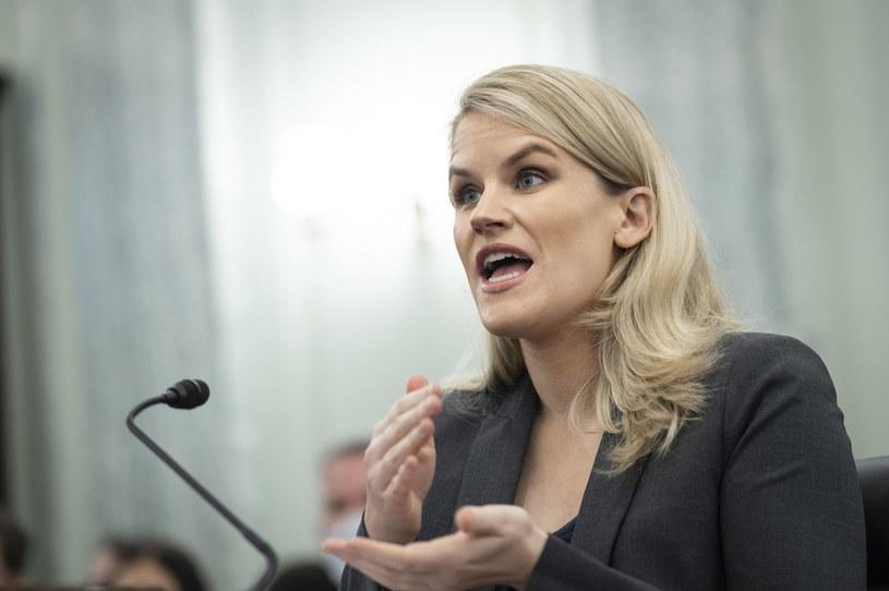 Była pracownica Facebooka, Frances Haugen /EPA/Drew Angerer / POOL /PAP