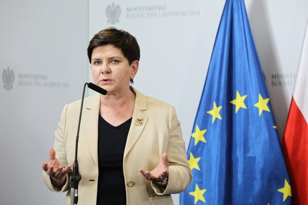 Była premier - Beata Szydło /Paweł Supernak /PAP