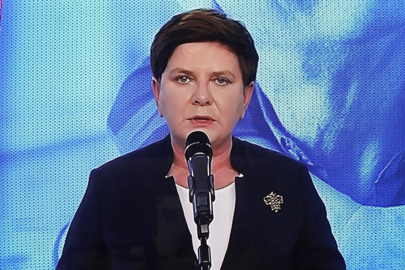 Była premier Beata Szydło /Wojciech Olkuśnik /PAP