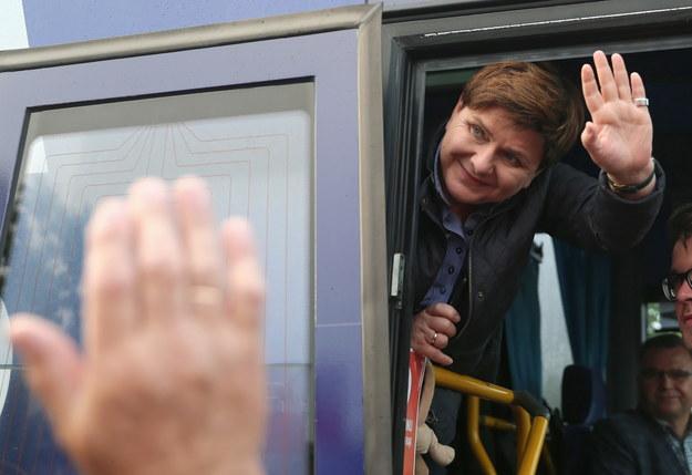 Była premier, dziś europosłanka Beata Szydło / Andrzej Grygiel    /PAP