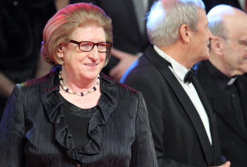 Była premier Hanna Suchocka została wyróżniona Diamentowym Laurem /Andrzej Grygiel /PAP