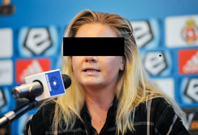 Była prezes Wisły Kraków Marzena S.-C. /MICHAL KLAG/REPORTER /East News