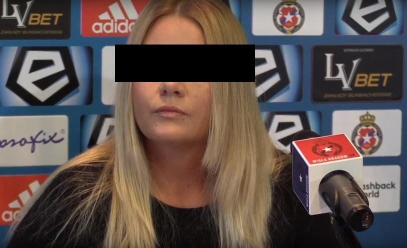 Była prezes Wisły Kraków SA Marzena S. /INTERIA.PL