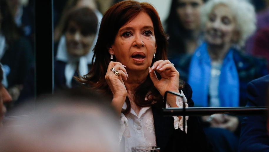 Była prezydent Argentyny Cristina Fernandez de Kirchner /JUAN IGNACIO RONCORONI /PAP/EPA