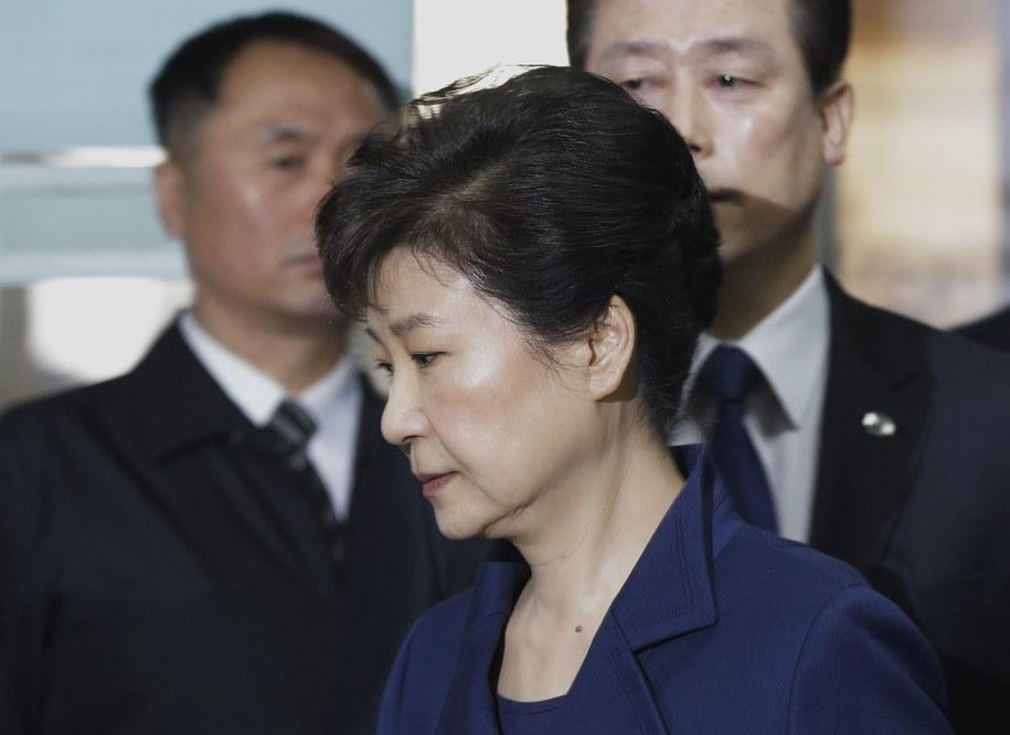 Była prezydent Park Geun Hie /AHN YOUNG-JOON / POOL  /PAP/EPA