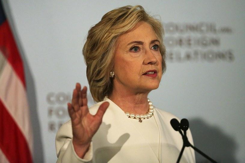 Była sekretarz stanu USA Hillary Clinton /AFP