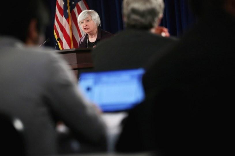 Była szefowa Fed obecnie sekretarz skarbu Janet Yellen /AFP