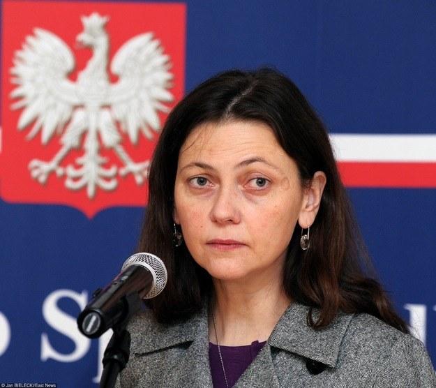 Była wiceminister sprawiedliwości Monika Zbrojewska /Jan Bielecki /East News