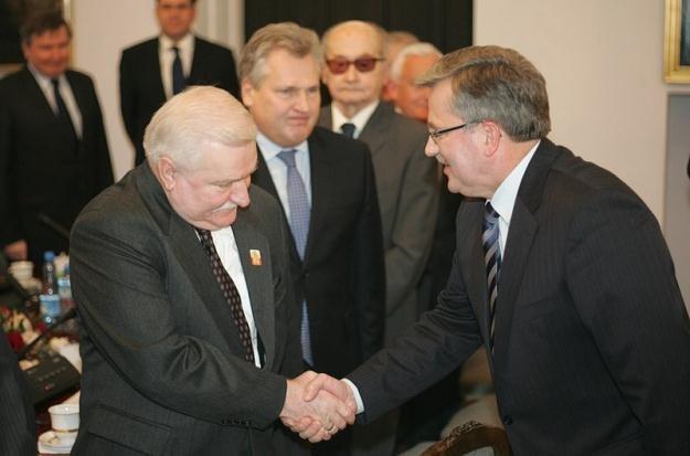 Byli i obecny prezydent / fot. P. Kowalczyk /Agencja SE/East News