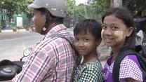 Byliśmy z kamerą w Birmie