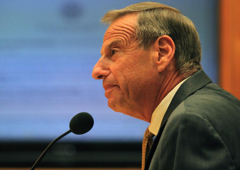 Były burmistrz San Diego, Bob Filner. /Bill Wechte /AFP