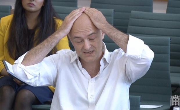Były doradca Borisa Johnsona: Premier uważał Covid za histerię. Chciał, by mu wstrzyknąć wirusa