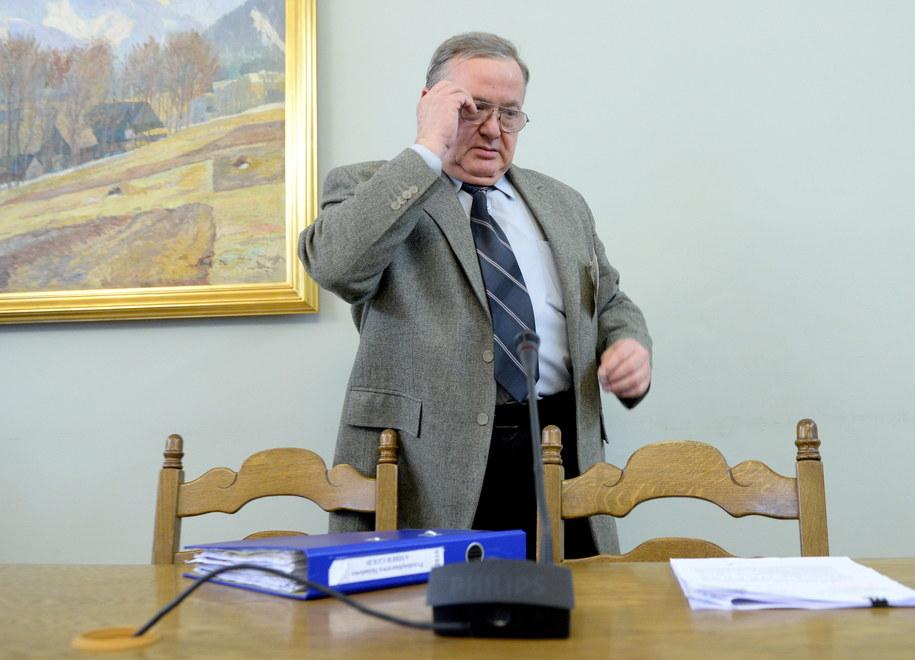 Były dyrektor Departamentu Administrowania Obrotem Ministerstwa Gospodarki Jarosław Mąka /Jacek Turczyk /PAP