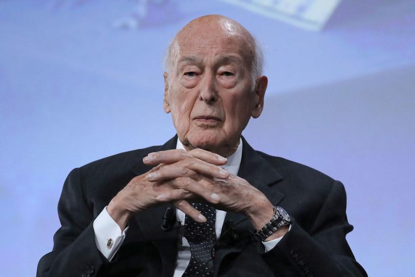 Były francuski prezydent Valery Giscard d'Estaing trafił do szpitala /JACQUES DEMARTHON  /AFP