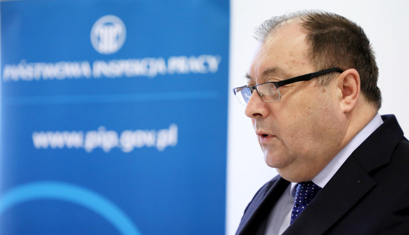 Były Główny Inspektor Pracy Wiesław Łyszczek /Piotr Molecki /East News