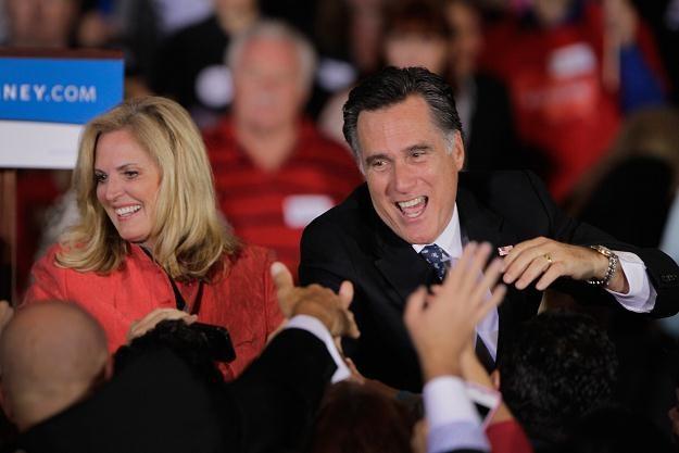 Były gubernator Massachusetts, Mitt Romney /AFP