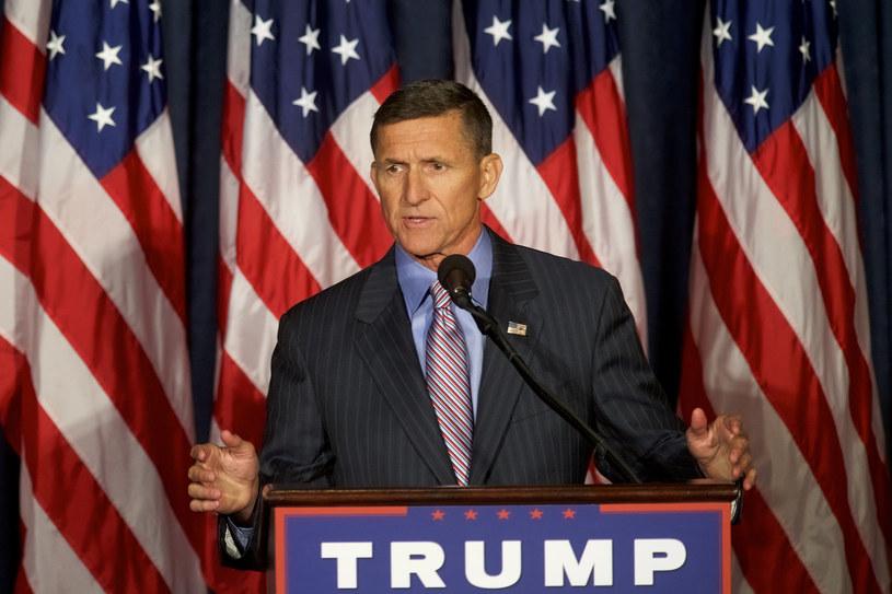 Były już amerykański doradca ds. bezpieczeństwa narodowego Michael Flynn /AFP