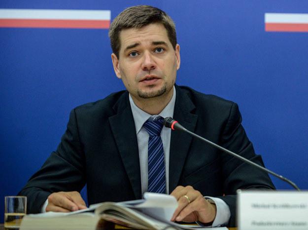 Były już wiceminister sprawiedliwości Michał Królikowski fot. Jakub Kamiński /PAP