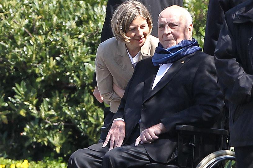 Były kanclerz Niemiec Helmut Kohl /AFP