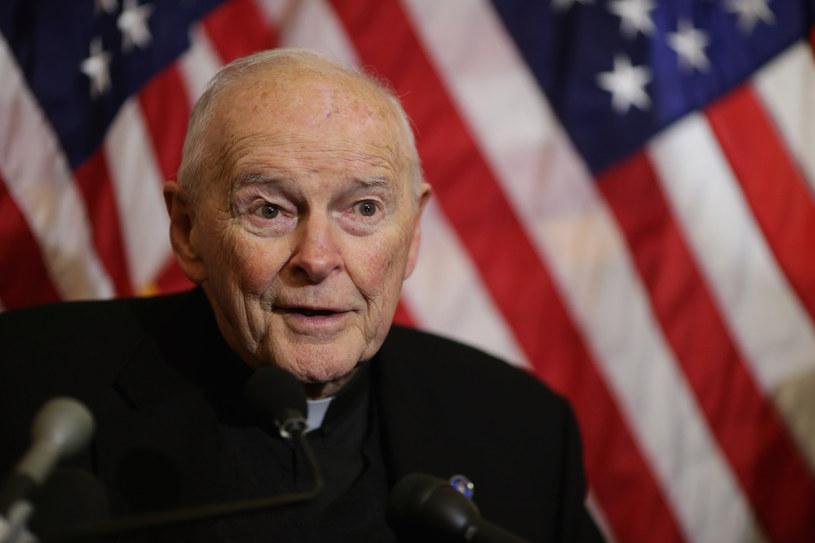 Były kardynał Theodore McCarrick /AFP